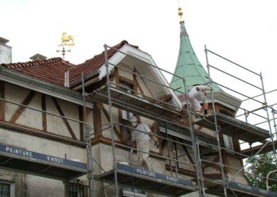 Peinture Kwast - Entreprise de peinture, ravalement de façade, isolation extérieure, revêtements de sols et murs à Mulhouse et Saint Louis (113)